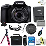 Canon PowerShot SX60 HS Digital Camera + Pixi-Basic Accessory Kit – International Version