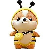 Apostasi Cute Squirrel Shiba Inu Dog Plush Toy Pillow, Stuffed Soft Animal Pillow, Plush Big Stuffed Animal Dolls Cuddly…