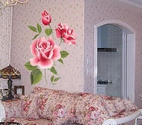 Amazon.com: 1 flor de rosa Hotportgift extraíble de ...
