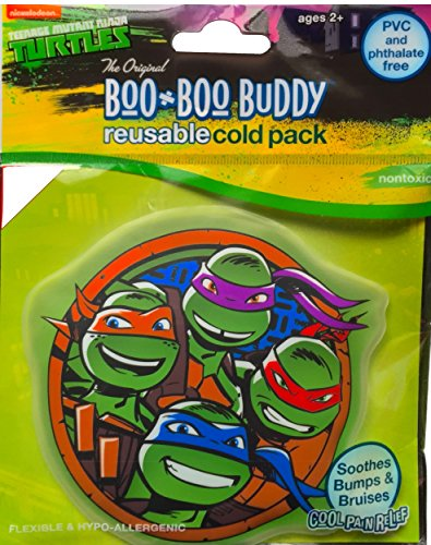Boo Buddy (Teenage Mutant Children's Cold Pack Boo Boo Buddy Reusable Cold Pack Soothes Bumps and Bruises Cold Pain Relief for Outdoor Accidents)