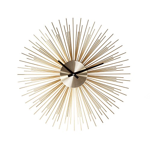 Stilnovo G133719GOLD Urchin Clock-Gold