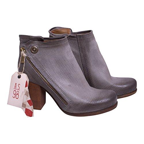 """Chaussures """"Source Grigio de A.S.98couleur argent"""