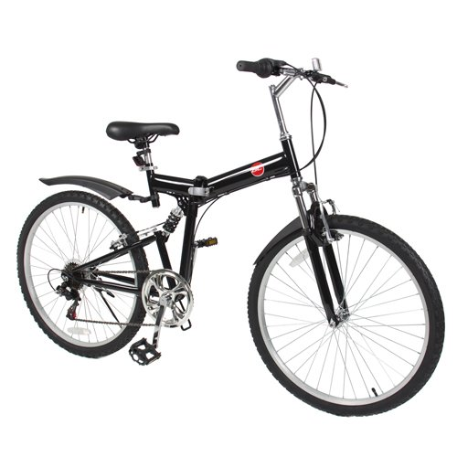 "Best Choice Products 6 Speed Shimano Foldable Bike, 26""/One"