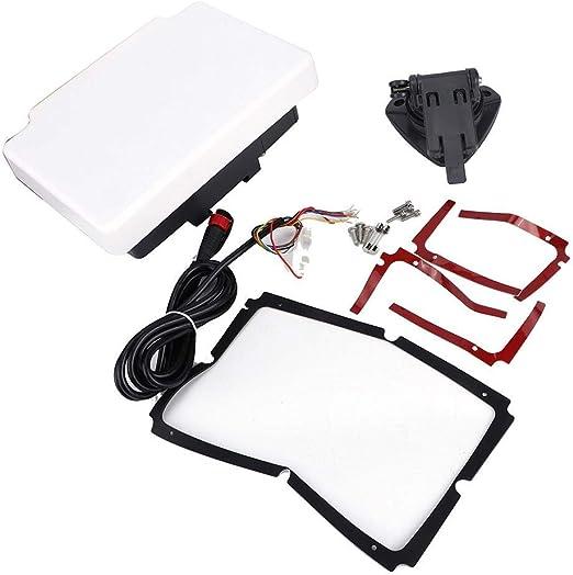 Pantalla LCD de cristal líquido a prueba de agua de 7 pulgadas Gráfico de navegación GPS Navegador Gráfico de trazador marino: Amazon.es: Coche y moto