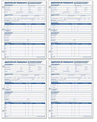 Most bought Personnel Forms