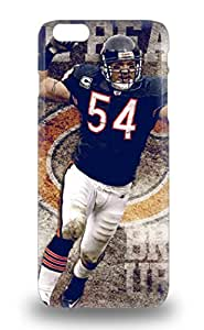 6 Plus Perfect 3D PC Soft Case For Iphone NFL Chicago Bears Brian Urlacher #54 3D PC Soft Case Cover Skin ( Custom Picture iPhone 6, iPhone 6 PLUS, iPhone 5, iPhone 5S, iPhone 5C, iPhone 4, iPhone 4S,Galaxy S6,Galaxy S5,Galaxy S4,Galaxy S3,Note 3,iPad Mini-Mini 2,iPad Air )