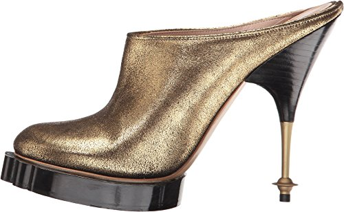 Vivienne Westwood Womens Animal Mule Gold
