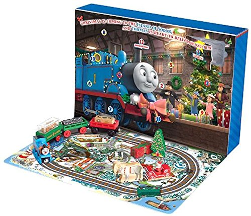 Thomas and Friends Wooden Railway Countdown to Christmas Advent Calendar (Tree Thomas Christmas The Train)