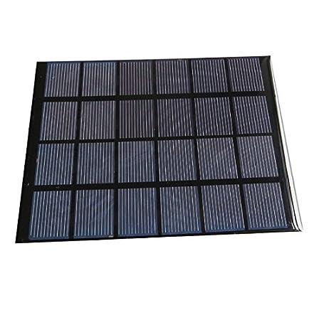 Futaba 6V 2W 330 mA Mini Monocrystalline Polycrystalline Solar Panel