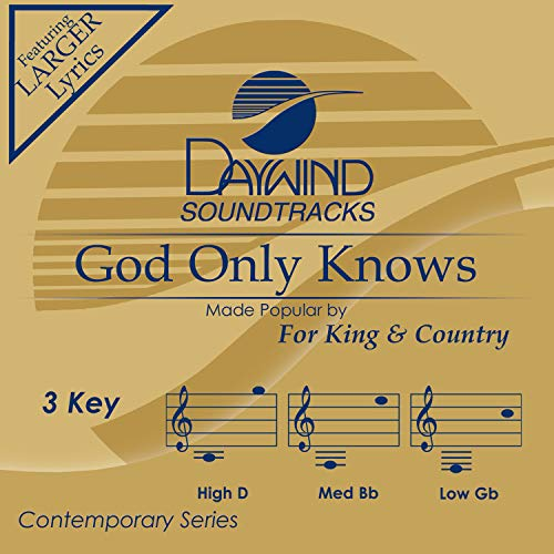 God Only Knows [Accompaniment/Performance Track] (King Cd Accompaniment)