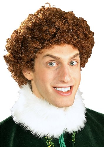 Elf Buddy The Elf Wig, Brown, One Size (Elfs Costume)
