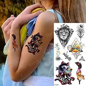3ps-Tattoo Sternbone Tattoo Sticker Mujer Tatuaje y Body Art ...