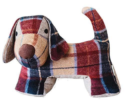 McCaw Allan Tweed Dog Shaped Door Stopper by Samuel Lamont McCaw Allan