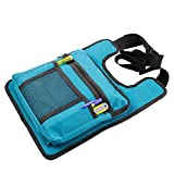 Multi Pocket Carpenter Woodworking Hammer Hardware Wrench Tool Storage Bag Electrician Organizer Toolkit Shoulder Pouch