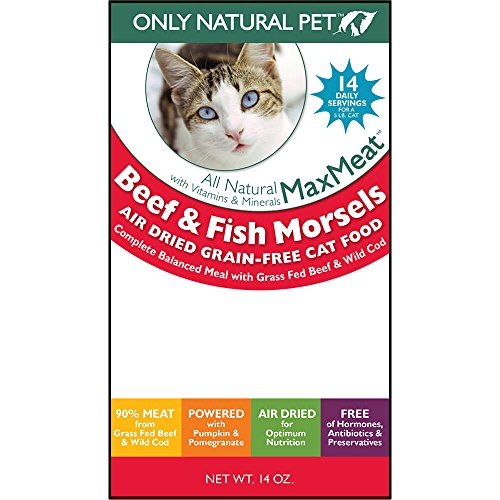 Only Natural Pet MaxMeat Air Dried Cat Beef & Cod 14 oz by Only Natural Pet (Image #3)