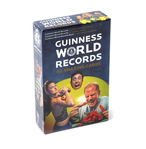 Official Guinness World Records Playing Cards (2016) (Feat Card)