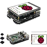 for Raspberry Pi 3 b+ Display Case, 3.5 inch TFT LCD Touch Screen Monitor with Driver Instruction for Raspberry pi 3 Model b+