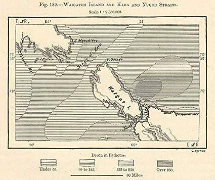 Amazon.com: Novaya Zemlya & Vaygach Island. Kara & Yugorsky ...