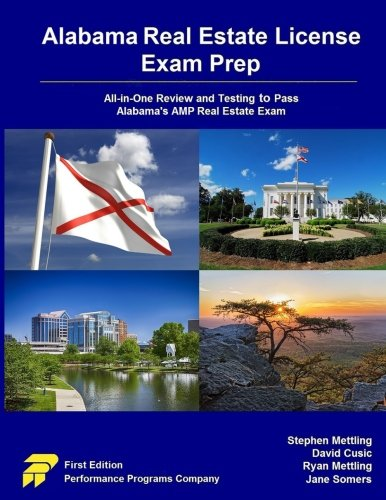 Pdf Law Alabama Real Estate License Exam Prep: All-in-One Review and Testing to Pass Alabama's AMP Real Estate Exam