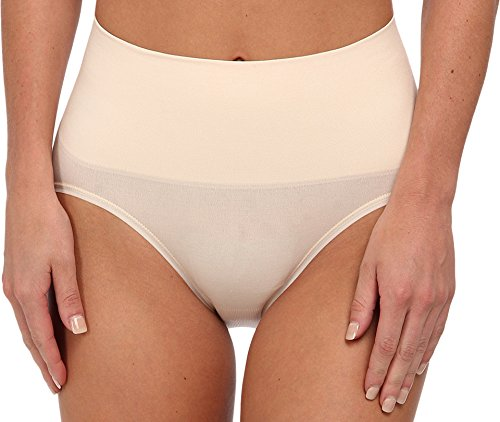 Yummie by Heather Thomson Women's Nici Seamlessly Everyday Shaping Briefieie, Nude, Large/X-Large