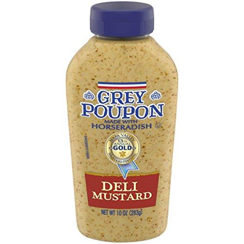Grey Poupon Deli Mustard, 10.0 oz Squeeze -