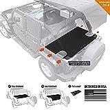 GPCA Cargo Cover LITE for Jeep Wrangler JKU Sports/Sahara/Freedom/Rubicon 4DR Unlimited 2007-2018 models trunk