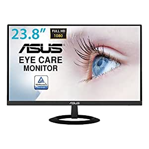 "Asus VZ249HE 23.8"" Full HD IPS Mate Negro Pantalla para PC - Monitor (60,5 cm (23.8""), 1920 x 1080 Pixeles, LED, 5 ms, 250 CD/m², Negro)"