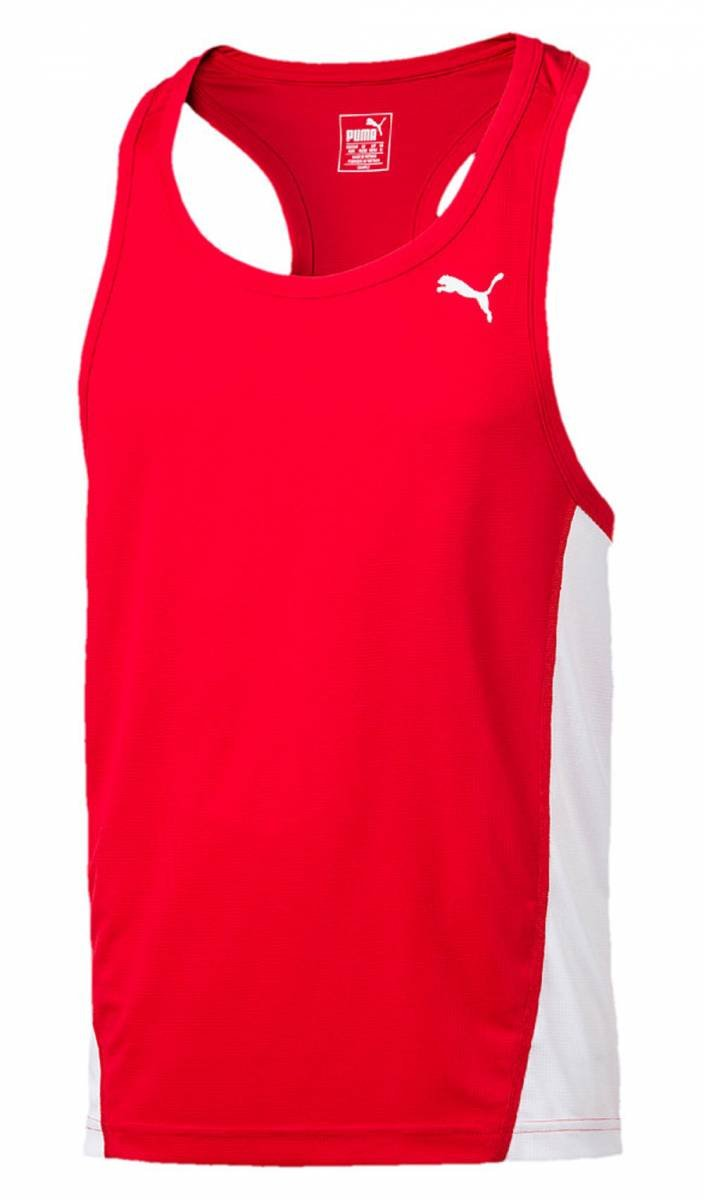 Puma Jungen Cross The Line Singlet Tank Top 515098