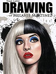 Clip: Time Lapse Drawing of Melanie Martinez