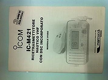 manual de italiano icom ic m421 amazon es electr nica rh amazon es icom ic-m421 manuale d'uso icom m421 manual