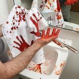 """Blood Bath Bloody Hand Towel - 16"""" X 29.5"""""""