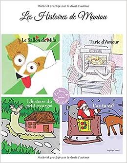Amazon Fr Les Histoires De Maniou 4 Livres Jeunesse En 1