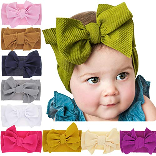 Baby Girls Headbands Baby Head Wraps Baby Headbands and Bows Chiffon Flower