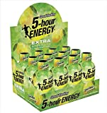 7 hour energy - Extra Strength 5 Hour Cool Mint Lemonade Flavor | 12 Count