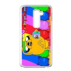 Happy Aadventure time Case Cover For LG G2 Case by icecream design