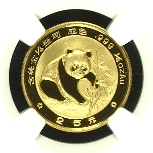 1988 CN China 1988 Gold Coin 25 Yuan Panda Temple of Heav coin PF 69 Ultra Cameo NGC