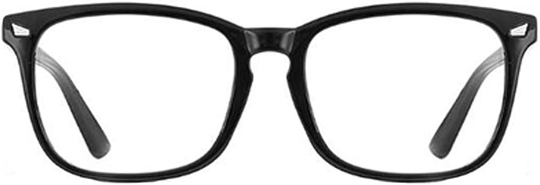 Inlefen Unisex Occhiali Luce Blu Affaticamento Degli Occhi Anti Mal di Testa Leggeri Pieghevoli Portatili Pieghevoli con Montatura per Donna Uomo