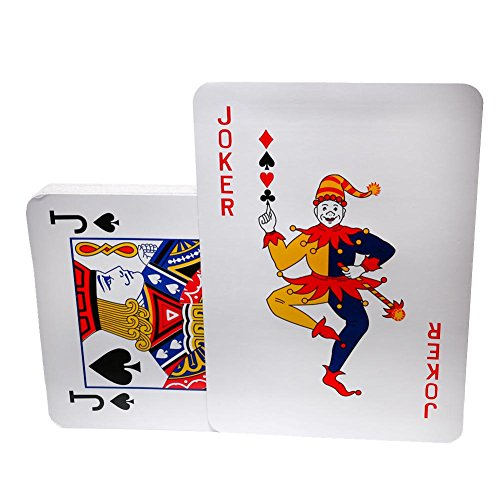 Jumbo Playing Cards - 10.5