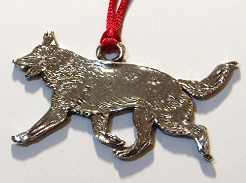 Hutton Metalcrafts Shepherd fine Pewter Christmas Ornament, Made in -