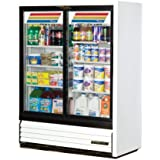 True Slide Door Slim Line Refrigerator Merchandiser, 19 Cubic Ft