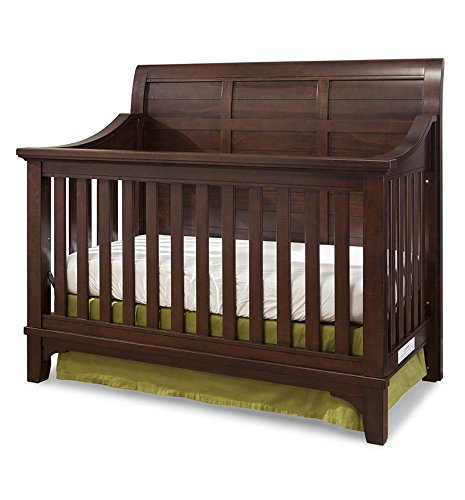 Metal Sleigh Crib (Westwood Design Hayden 4 in 1 Convertible Crib, Rough Sawn Espresso)