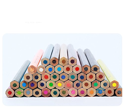 48-color Colored Pencils/ Drawing Pencils for Artist Sketch/Coloring Book(Not Included) (blue) Photo #6
