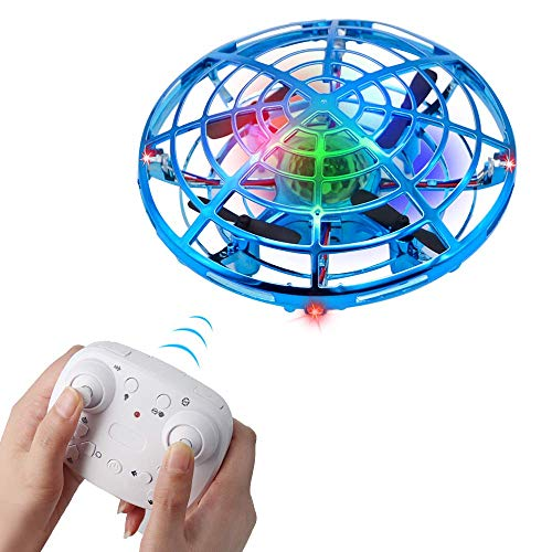 BIBIELF Flying Toys, Drone for Kids with Remote Control, Mini RC Drone with 2 Speed Models for Birthday Gifts for Kids Toddlers Boys & Girls, Blue