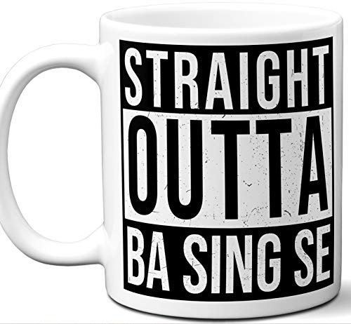 Gift Mug For Avatar: The Last Airbender Fan. Straight Outta Ba Sing Se. Funny Him Her Coffee Tea Women Men Birthday Christmas Fathers Day Mothers Day. (Avatar The Last Mug)