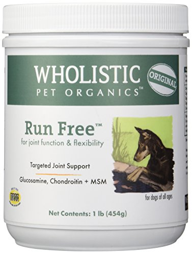 Wholistic Pet Organics Run Free Supplement, 1 lb