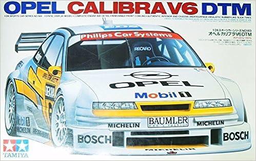 Amazon.com: Tamiya Opel Calibra 1/24 V6DTM (1/24 sports car: 24,149) (4950344241491): Books