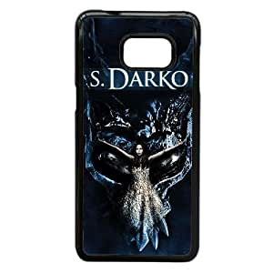 Alta Resolución S. Darko cartel Samsung Galaxy S6 Edge + Plus caja del teléfono celular funda Negro caja del teléfono celular Funda Cubierta EEECBCAAL78615