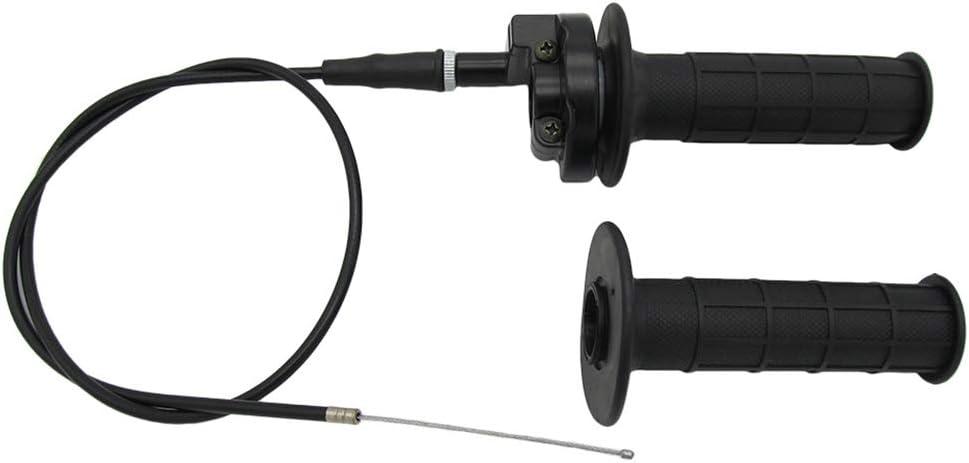 TONGXU 1 Set Motorbike Dirtbike Twist Throttle Accelerator Grips Cable Set for 250cc ATV Motocross Accessories