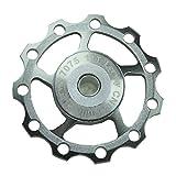 Lerway Aluminium Jockey Wheel Rear Derailleur Pulley SHIMANO SRAM 11T 1pcs (Titanium)
