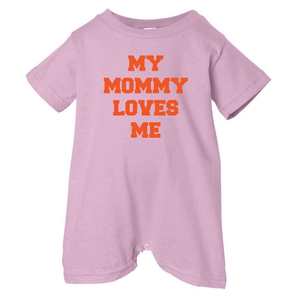 Unisex Baby My Mommy Loves Me T-Shirt Romper So Relative